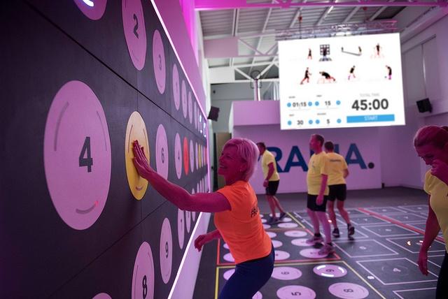 prama interactive fitness platform