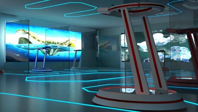 Spacewalkervr Omnidirectional Walking Simulator Allows