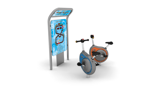 Speed Racer: Self-Powered Fitness Bike