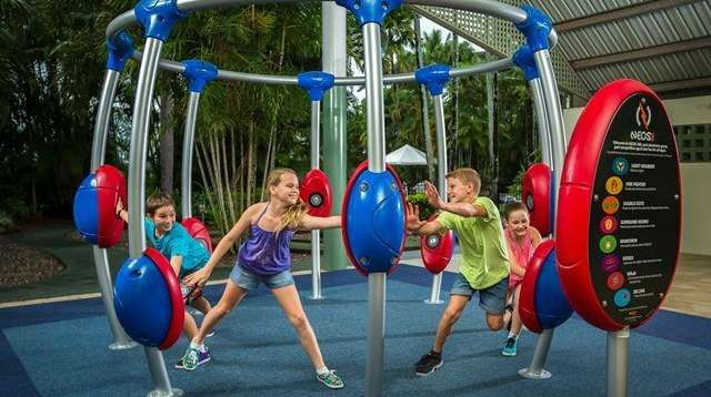 NEOS 360 Electronic Playground Delivers Action and Fun