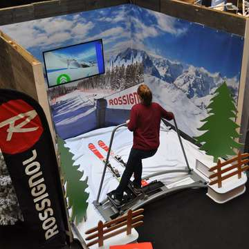 Pro Ski Fit 360 Simulator at La Part-Dieu des Neiges 2014