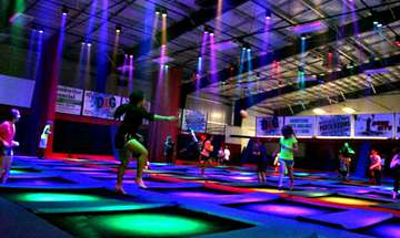Prismatic Explosion and Trampoline Ninja Introduce New Kind of Trampolining
