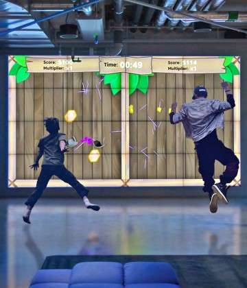 Lumo Play Transforms Walls and Floors into Immersive, Motion-Reactive Environments