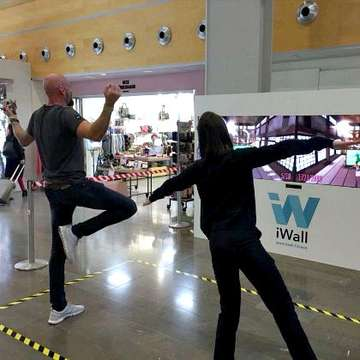iWall and tapWall Bring Active Games to the Travel Industry