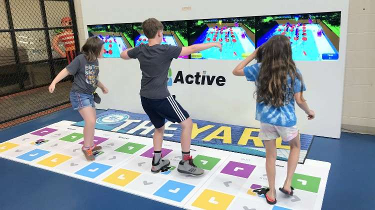 4Active Fast-Paced Immersive Games Put Players' Speed and Coordination to the Test