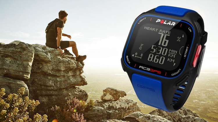 Polar Introduces New RC3 Blue Cycling and Running GPS Watch