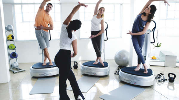 power plate exercises benefits of acceleration training fitness gaming. Black Bedroom Furniture Sets. Home Design Ideas