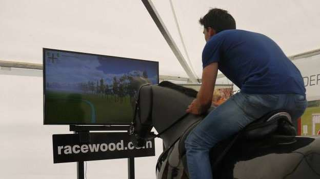 Racewood's Jumping Simulator Provides Safe Training to Riders