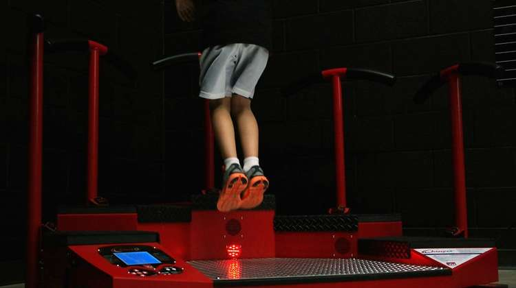 JumpQ: Interactive Plyometric and Cardio Workout