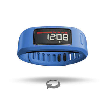 Garmin Vivofit Sets Goals Tailored to User's Potential
