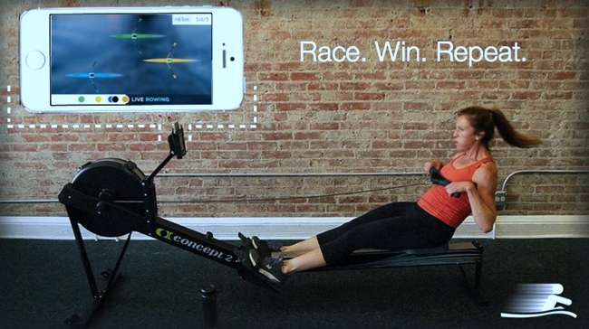 LiveRowing App Introduces Gamification to Indoor Rowers