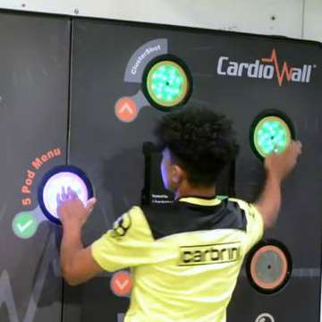 CardioWall Helps Football Club Pinpoint Stars of the Future