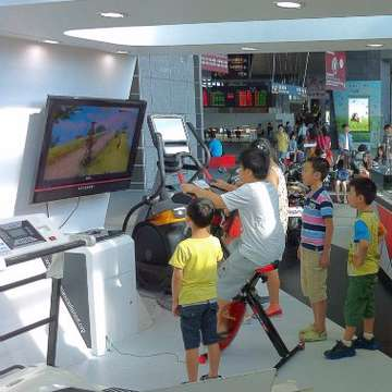 Game-Bike Delivers Range of Interactive Fitness Training Options