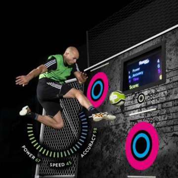 WallJAM Training Wall Helps Users Improve Ball Skills Through Interactive Sports Challenge