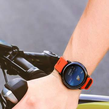 Amazfit Smartwatch Offers Heart Rate Monitoring and Real-Time GPS-Tracking