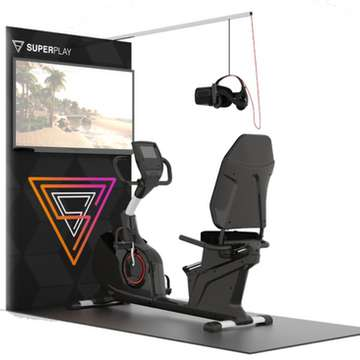 FreeDriver Immerses Users in VR Racing Games on Superplay Fitness Platform