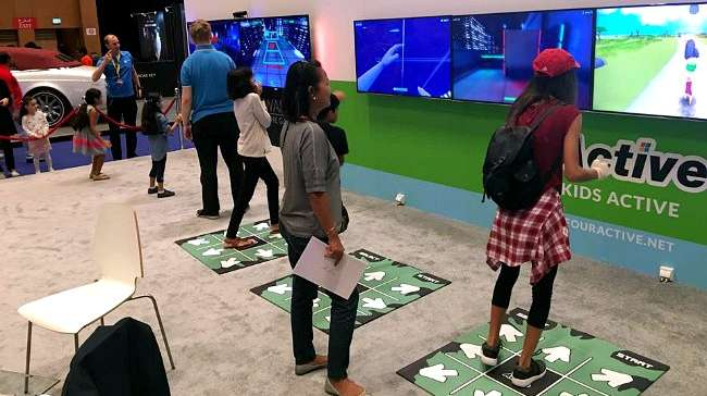 CSE Entertainment Presents Immersive Wall and 4Active at Big Boys Toys Show