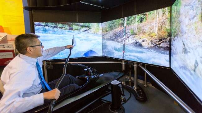 VROX Sports Simulators Deliver Immersive Indoor Kayaking, Sit-Ski and Bobsled Riding Experiences