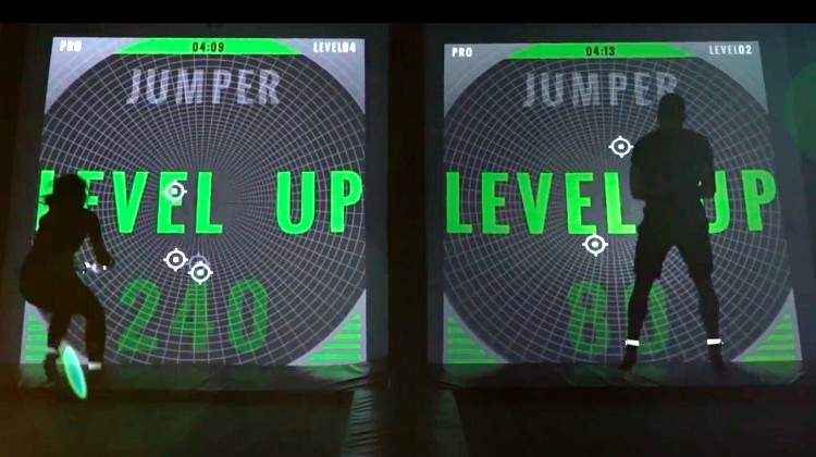 LightJumper Tests Speed, Strategy and Coordination on the Trampoline