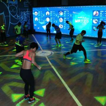 Holofit Immerses Participants in Interactive Environments for Different Types of Workouts