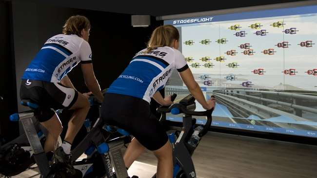 Stages Flight Offers Immersive Video and Advanced Data Analysis for Indoor Cycling