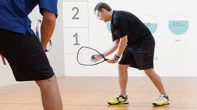 InteractiveRacquetball Introduces New Dimension to Classic Sport