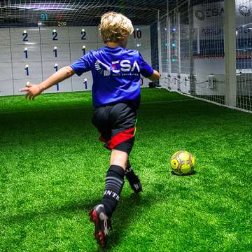 ICON Arena and Precision Wall Accelerate Football Training