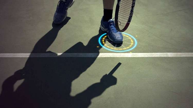 intelligent tennis floor