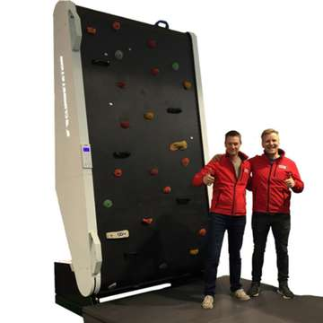 ClimbStation K.E.R.S. Uses Adaptive Speed and Tilt Angle for More Versatile Climbing Experience