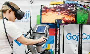 Blue Goji's Active VR Games Immerse Players in Virtual Worlds During Cardio Workouts