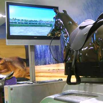 Horse Riding Simulator Provides Complete Solution for Training, Racing and Gaming
