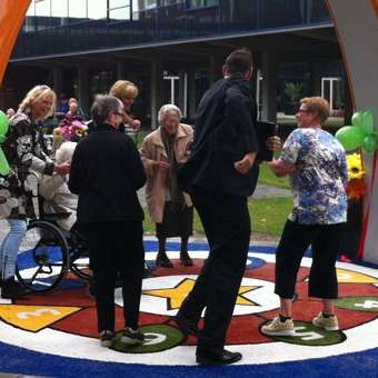 Yalp's Interactive Playground Installed in Nursing Home