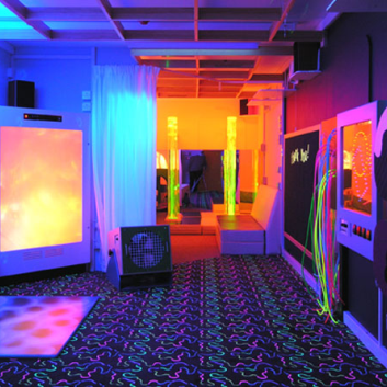 OM Interactive Sponsors Sensory Room at the Autism Show