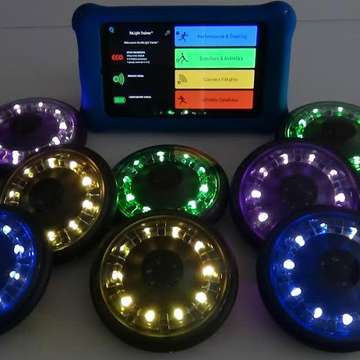 Fitlight Trainer Used in Special ADHD and Autism Pedagogical Program