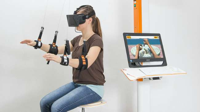 Tyromotion Introduces Virtual Reality to Robotic Therapy to
