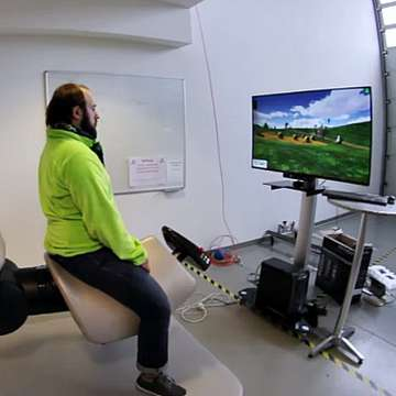 Hirob VR Rehabilitation Robot Uses Virtual Environments to Enhance Neurological Rehabilitation
