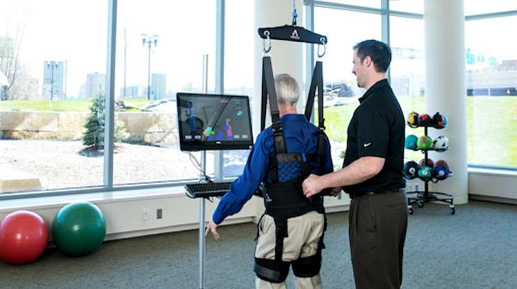 ZeroG® Gait and Balance System Offers Dynamic Fall Recovery with Robotic Body-Weight Support