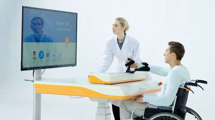 Fourier M2 Enhances Every Stage of Neurological Rehabilitation