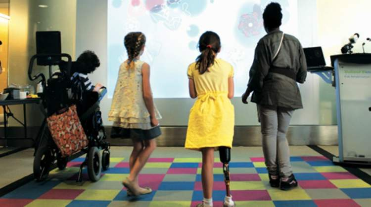 PEARL Lab Examines Effectiveness of Inclusive Interactive Technologies in Children's Rehabilitation Programs