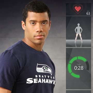 Xbox Fitness Recruits NFL Star Russell Wilson