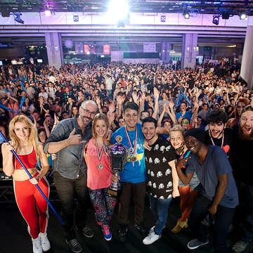 Just Dance ESWC Finals in Pictures