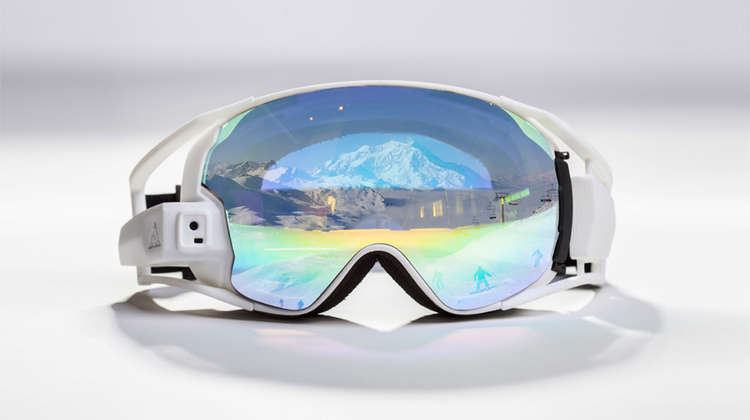 RideOn Introduces First True Augmented Reality Ski Goggles