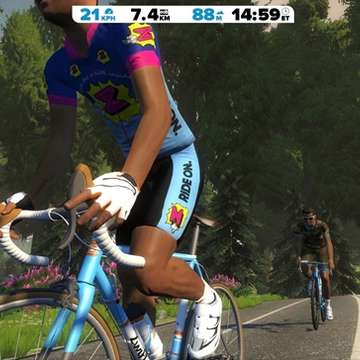Zwift Offers Better Indoor Training Experience to Cyclists