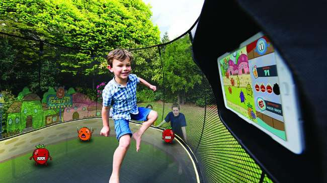 Tgoma Technology Brings Interactive Games to Trampolines