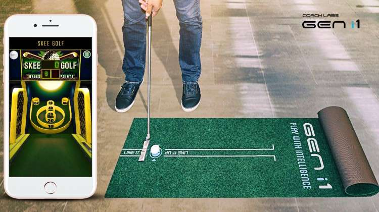 GEN i1 Smart Golf Ball Helps Golfers Master Putting