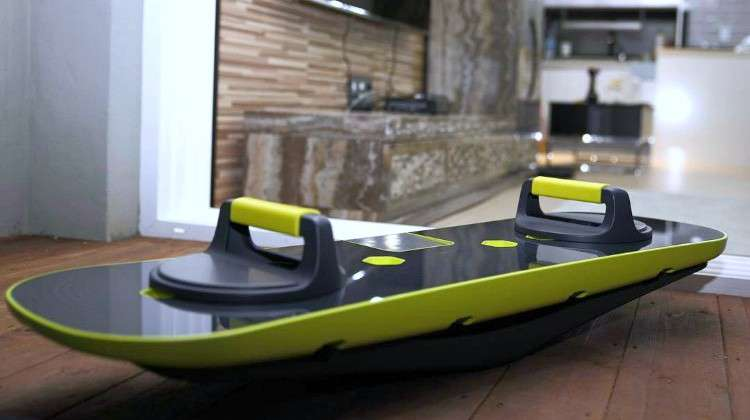 Buff-up Workout Board Delivers Personalized Weight and Balance Training
