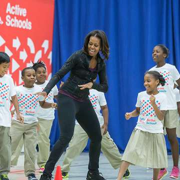 Let's Move! Launches Initiative to Bring Exercise Back to Schools