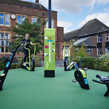 TGO Green Energy Gym Converts Exercise to Electricity