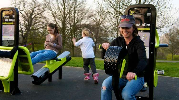 New Outdoor Gym Opened at Abbot's Hill School