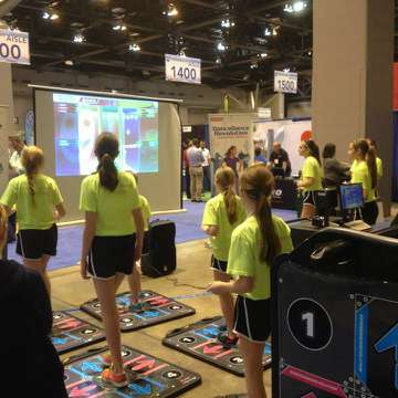 DDR at 2014 AAHPERD National Convention & Expo